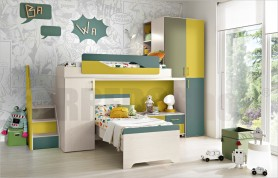 Loft bedroom set Omnia 28