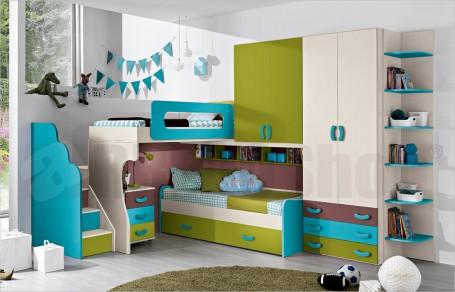 Loft bedroom set Omnia 30