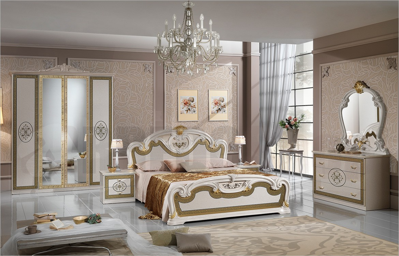 Camera da letto Matrimoniale in stile classico Natalie 1
