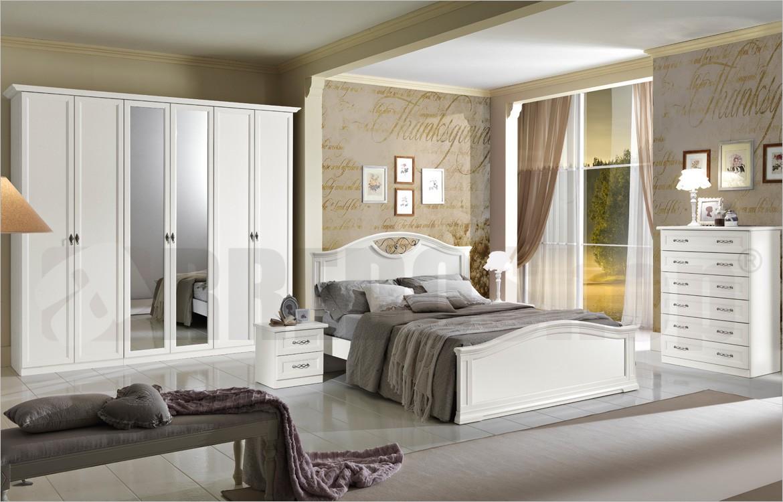 Camera Matrimoniale classica Dafne 103 con armadio 6 ante
