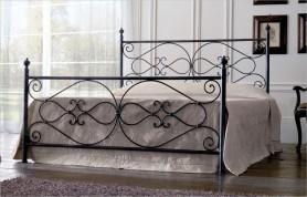 Iron bed mod. Annalisa-black silver
