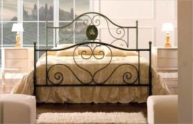 iron bed mod. Lory antique green