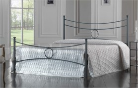 Wrought iron bed mod. Conca
