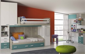 Loft bedroom set Flight C34