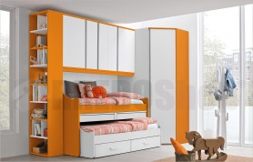 Bridge unit composition with large cabin and multi-function beds Golf C147