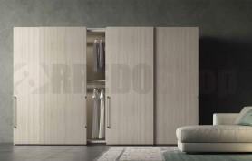 Concrete Arrivals sliding wardrobe