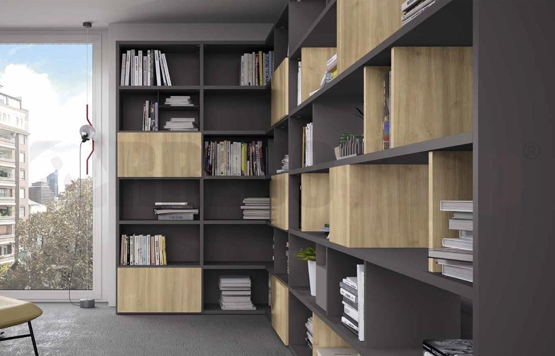 Mobile Libreria Per Soggiorno.Libreria Soggiorno Golf L111