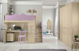 bedroom with bunk bed Arcadia AC113