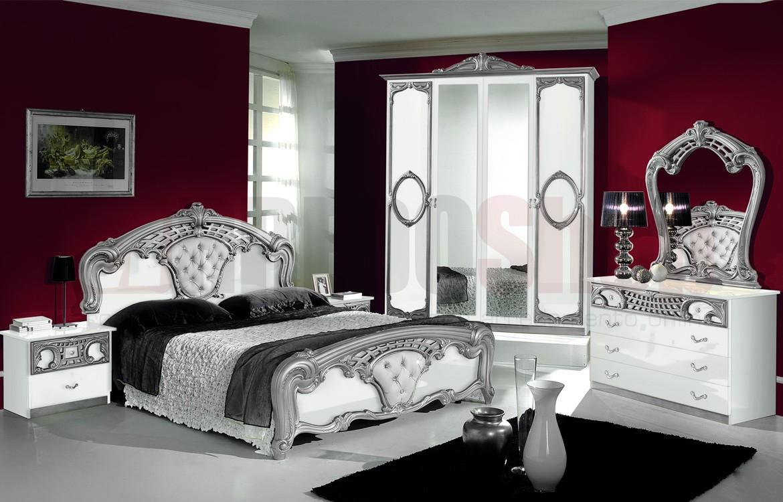 Camera da letto Sara White 04
