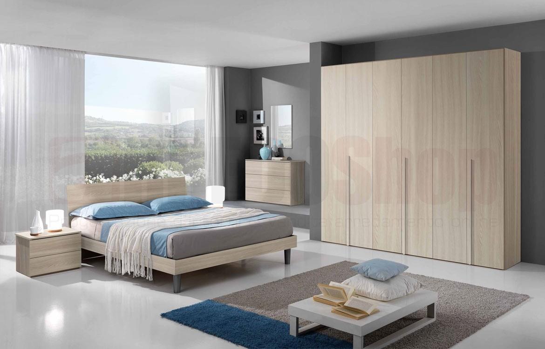 Camera da letto luisa topline camere olmo for Planimetria camera da letto