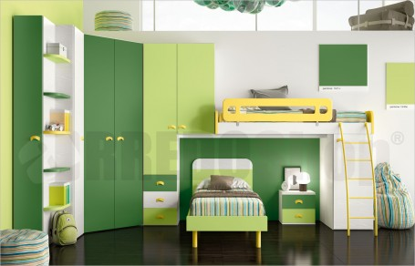 Loft bedroom set GT4034