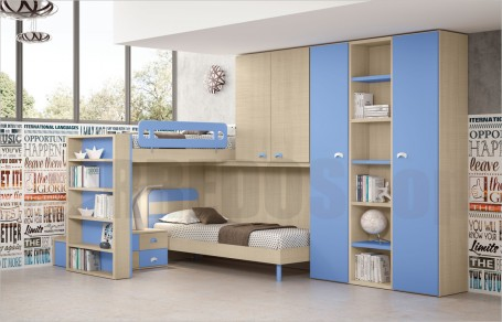 Loft bedroom set GT4030