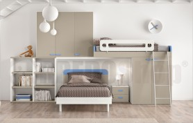 Loft bedroom set GT4007
