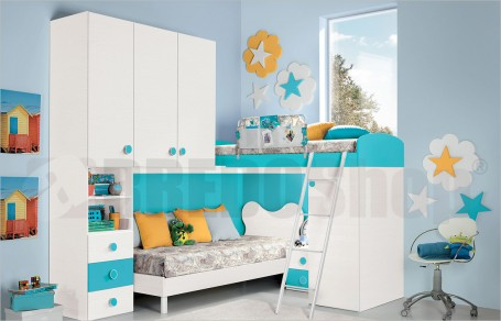 Loft bedroom set GT3001