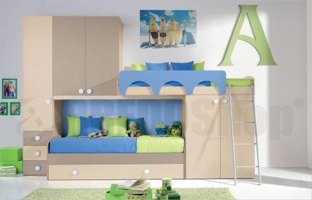 Loft bedroom set GT3007