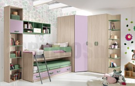 Bedroom with cabin big Omnia 10