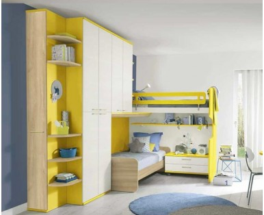 CHILDREN'S BEDROOMS in the LOFT - Arredoshop, free design