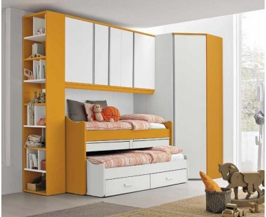 CHILDREN'S BEDROOMS to BRIDGE-Aaa, free design