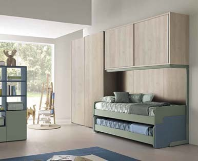 CHILDREN'S BEDROOMS COLOMBINI GOLF-Aaa