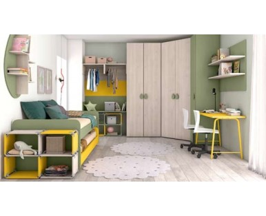 CHILDREN'S BEDROOMS COLOMBINI ERESEM-Aaa