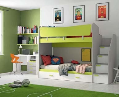 CHILDREN'S BEDROOMS COLOMBINI TARGET-Aaa