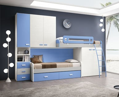 CHILDREN'S BEDROOMS Loft ROUND DANCE-Aaa