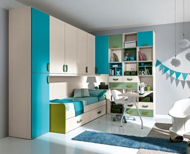 CHILDREN'S BEDROOMS OMNIA In BRIDGE-Aaa