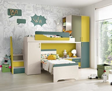 CHILDREN'S BEDROOMS Loft OMNIA-Aaa