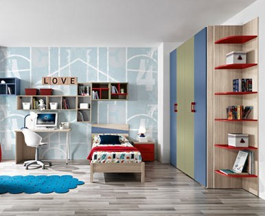 CHILDREN'S BEDROOMS OMNIA STANDARD-Aaa