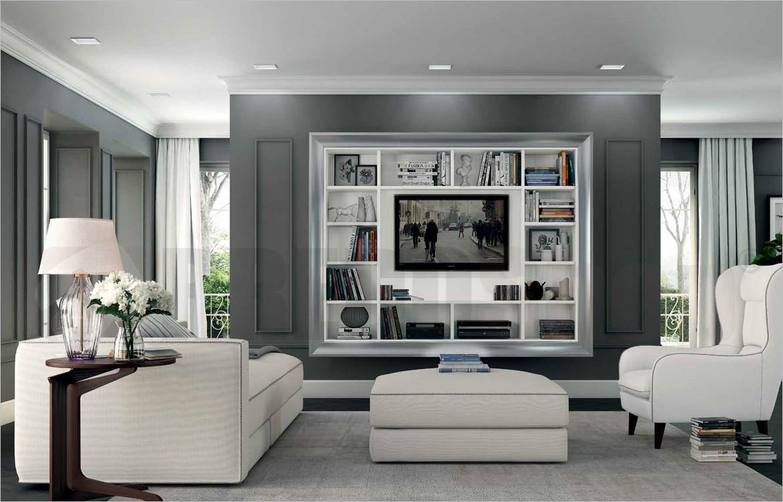 Porta Tv Soggiorno.Mobile Porta Tv Componibile Arcadia As109 Finiture Arcadia 1 Bianco Bucaneve